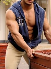 Muscular male escort Hong Kong